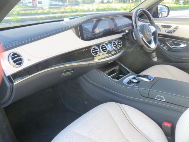 S400d AMGラインプラス レーダーセーフティ ナビゲーションPK パノラミックルーフ AMG20インチアルミ ディストロニックプラス ヘッドアップディスプレイ ブルメスタ ホワイトレザーシート(16枚目)
