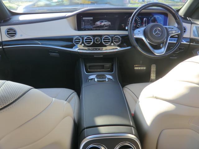 S400d AMGラインプラス レーダーセーフティ ナビゲーションPK パノラミックルーフ AMG20インチアルミ ディストロニックプラス ヘッドアップディスプレイ ブルメスタ ホワイトレザーシート(20枚目)