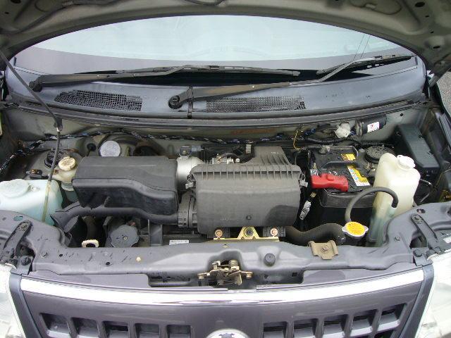日産 オッティ E 4速AT 社外14インチAW新品タイヤ 社外HDDナビ