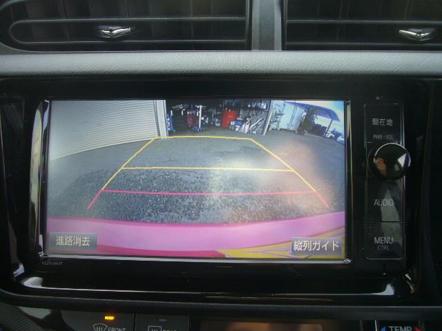 ☆嬉しいバックカメラ付き!!後方がはっきりわかるのでとっても便利なバックカメラ付です。しかもガイドラインが映るのでそれを頼りに運転していただければ、安心してバックできますよ!!
