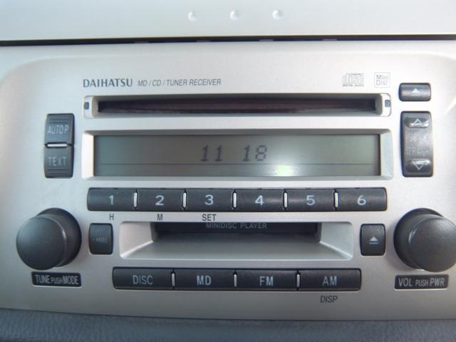 ダイハツ ムーヴラテ X キーレス CD MD再生