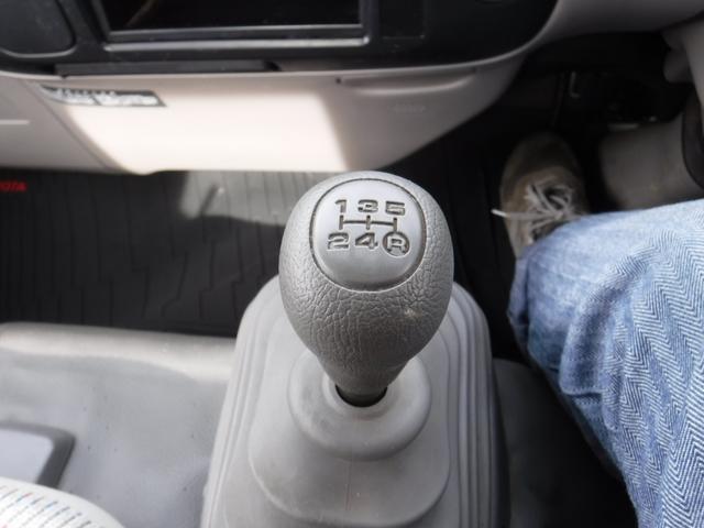 トヨタ トヨエース シングルジャストロー1.25t