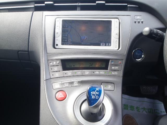 トヨタ プリウス S 後期型 ワンセグナビETCバックカメラ付 保証1年付