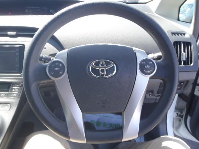 トヨタ プリウス S 地デジナビETCキーフリー ワンオーナー 保証1年付