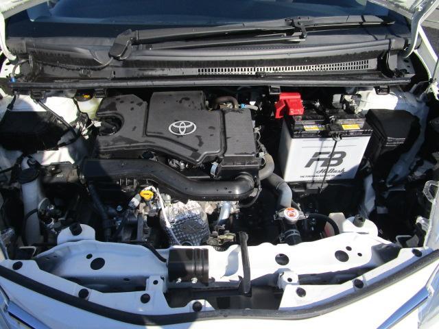 エンジンルームも点検整備&クリーニング済みとなっております。車両入庫時とご納車の前の2回にわたって整備点検を実施致しております。