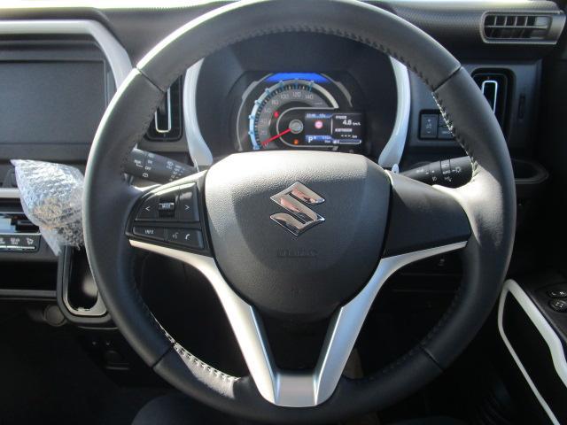 ハイブリッドX 届出済未使用車 衝突軽減ブレーキ キーフリー スマートキー クリアランスソナー シートヒーター キーレス オートエアコン デュアルカメラブレーキサポート  アルミホイール ABS(16枚目)