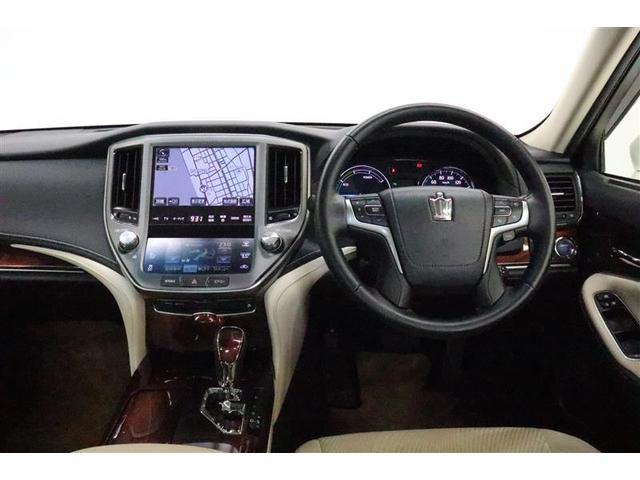 トヨタ クラウンハイブリッド ロイヤルサルーン メーカーHDDナビ バックモニター ETC