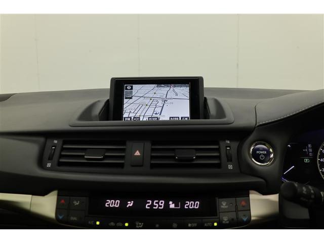 CT200h バージョンC メーカーナビ バックモニター フルセグ LEDライト クリアランスソナー ETC シートヒーター 純正アルミ(5枚目)