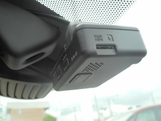 ドライブレコーダー付いています。