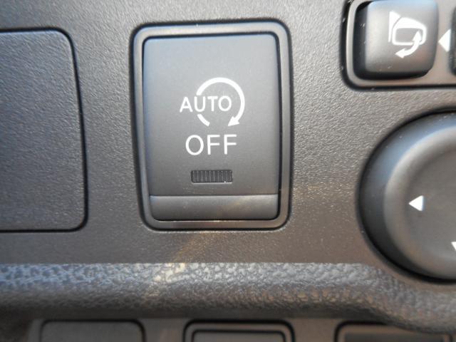 アイドリングストップ機能は信号待ちなどの際のガソリン消費を抑え、燃費向上♪