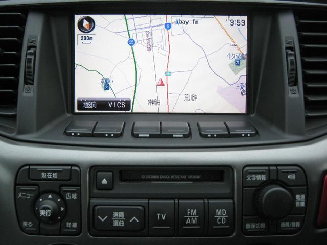 三菱 ランサー MX-E navi 4WD 車検2年付 ワンオーナー車 ナビ