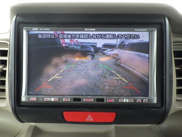 バックカメラ付き!狭い場での所での車庫入れなどに便利です!