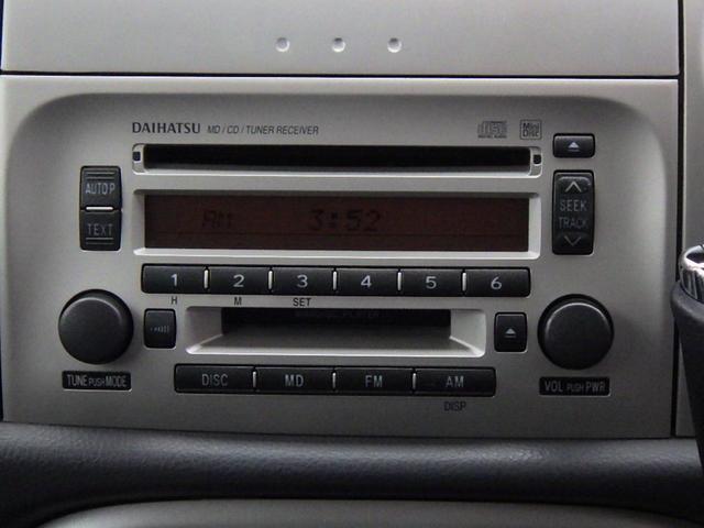 純正オーディオ・CD付き! ラジオも聴くことができます♪なくては困るドライブの必需品です!