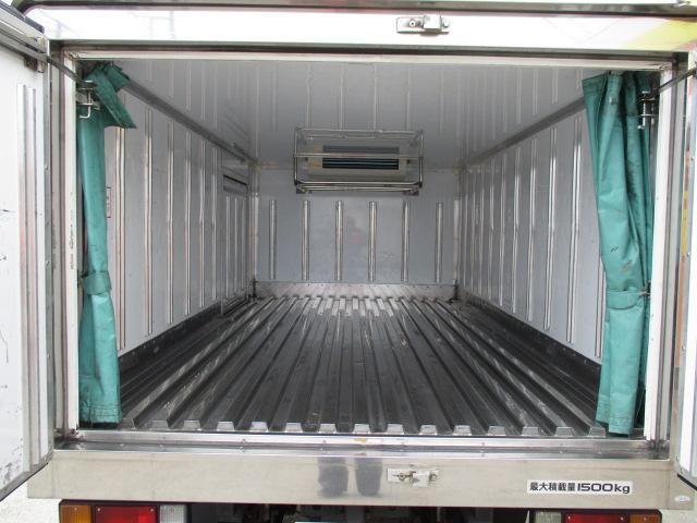 マツダ タイタントラック 1.5t 冷蔵冷凍 フルフラットロー オートマ車