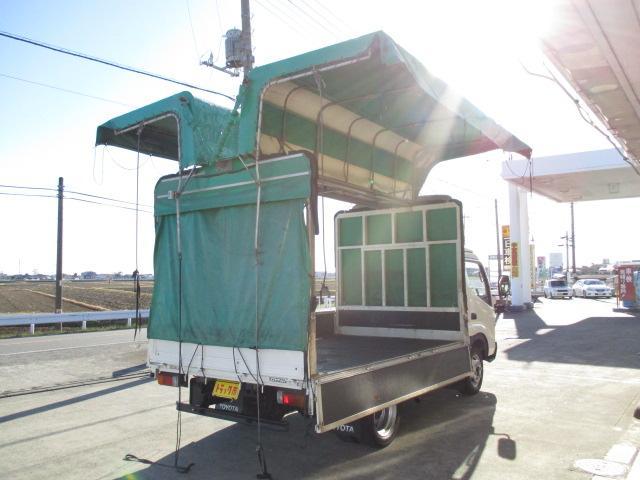 トヨタ ダイナトラック 3t セミロング 幌ウイング オートマ車