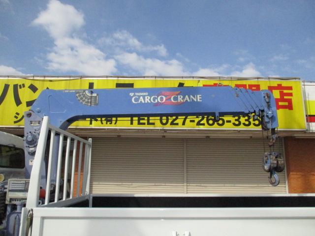 三菱ふそう キャンター 2.95t ロング 5段クレーン ラジコン付