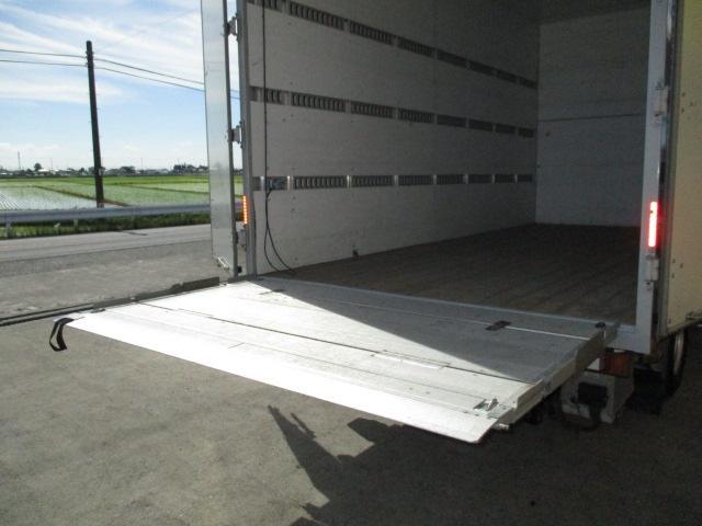 いすゞ エルフトラック 2tワイド ロング アルミバン 格納ゲート
