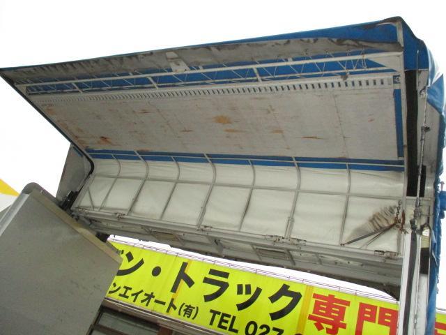 2t ワイド ロング 電動幌ウイング アルミブロック バックカメラ ラッシングレール1段(6枚目)