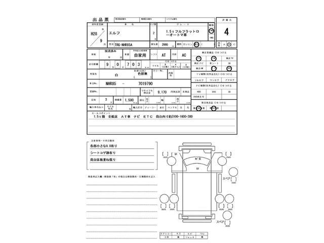 1.5t フルフラットロー オートマ車 ナビ付(2枚目)