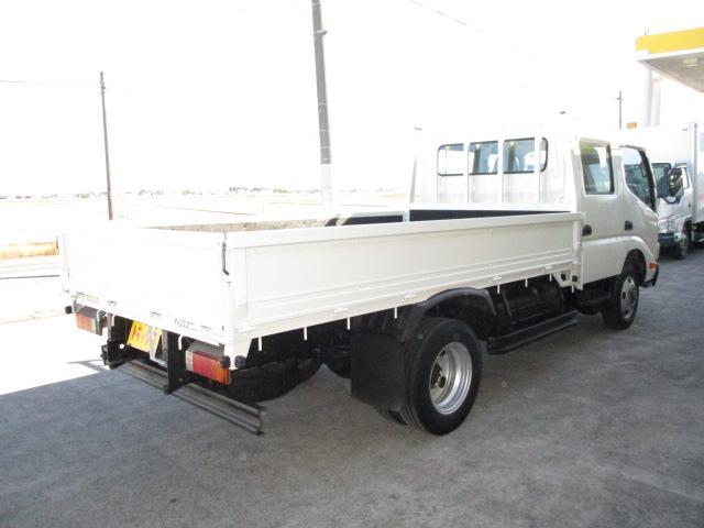 2t Wキャブ ロング フルジャストロー 4WD リアヒーター 全席パワーウインドー 4WD切り替え式(2枚目)