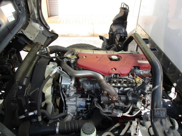 4t ワイド ロング 保冷車 バックカメラ 左スライドドア リア三枚観音 ラッシングレール2段(7枚目)