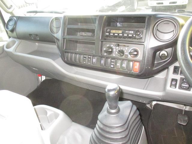 4t ワイド ロング 保冷車 バックカメラ 左スライドドア リア三枚観音 ラッシングレール2段(14枚目)