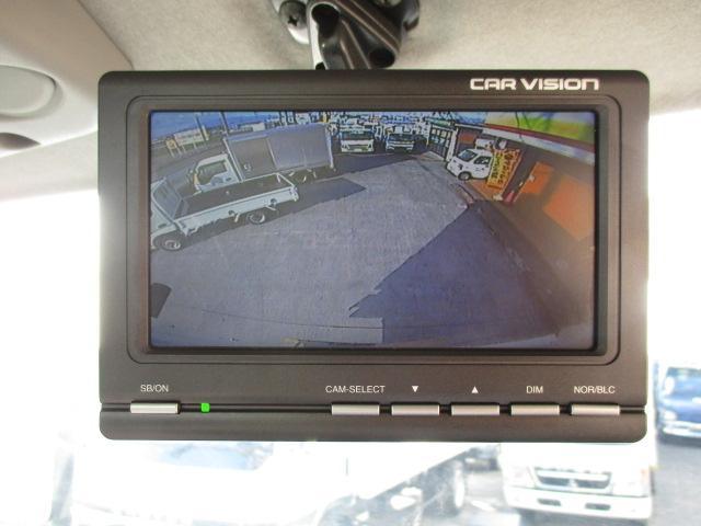 4t ワイド ロング 保冷車 バックカメラ 左スライドドア リア三枚観音 ラッシングレール2段(16枚目)