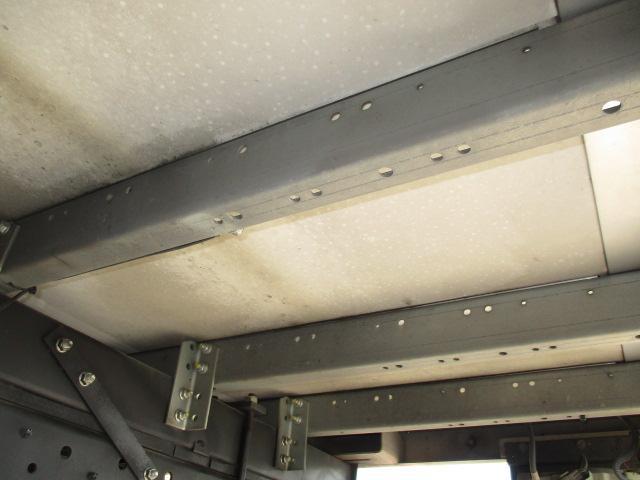 4t ワイド ロング 保冷車 バックカメラ 左スライドドア リア三枚観音 ラッシングレール2段(26枚目)
