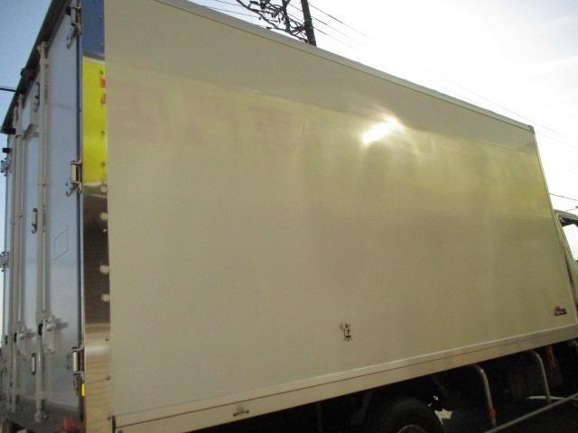 4t ワイド ロング 保冷車 バックカメラ 左スライドドア リア三枚観音 ラッシングレール2段(33枚目)