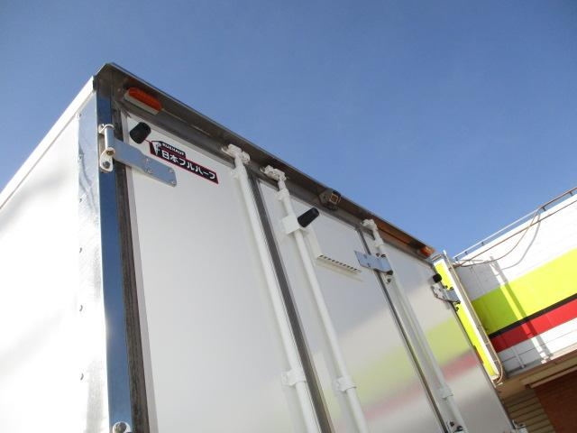 4t ワイド ロング 保冷車 バックカメラ 左スライドドア リア三枚観音 ラッシングレール2段(38枚目)