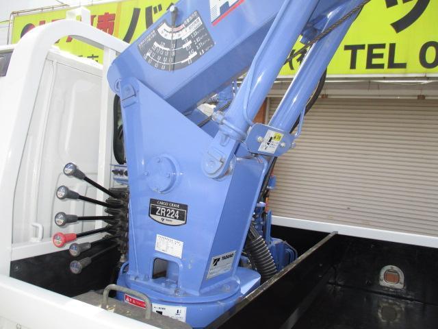 3t ロング 4段クレーン ラジコン付 横置きクレーン 簡易クレーン 2.22t吊り 全旋回型(5枚目)