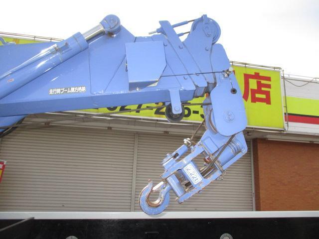 3t ロング 4段クレーン ラジコン付 横置きクレーン 簡易クレーン 2.22t吊り 全旋回型(10枚目)