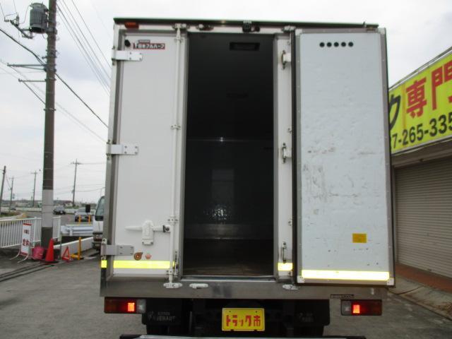 4t ワイド ロング 保冷車 アルミバン パネルバン バックカメラ 左スライドドア リア三枚観音 ラッシングレール2段(5枚目)