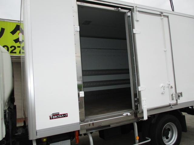 4t ワイド ロング 保冷車 アルミバン パネルバン バックカメラ 左スライドドア リア三枚観音 ラッシングレール2段(6枚目)