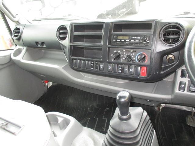 4t ワイド ロング 保冷車 アルミバン パネルバン バックカメラ 左スライドドア リア三枚観音 ラッシングレール2段(13枚目)