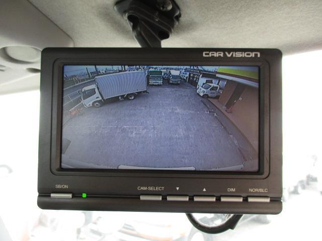 4t ワイド ロング 保冷車 アルミバン パネルバン バックカメラ 左スライドドア リア三枚観音 ラッシングレール2段(17枚目)