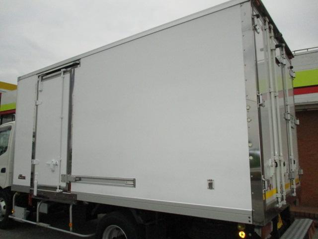 4t ワイド ロング 保冷車 アルミバン パネルバン バックカメラ 左スライドドア リア三枚観音 ラッシングレール2段(35枚目)