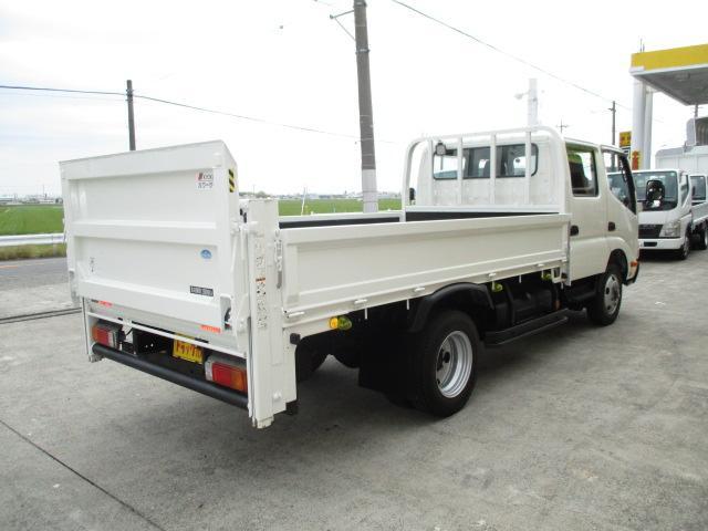 2t Wキャブ ロング 垂直パワーゲート 4WD ゲート昇降荷重600Kg 4WD切替え式 リアヒーター ETC(2枚目)