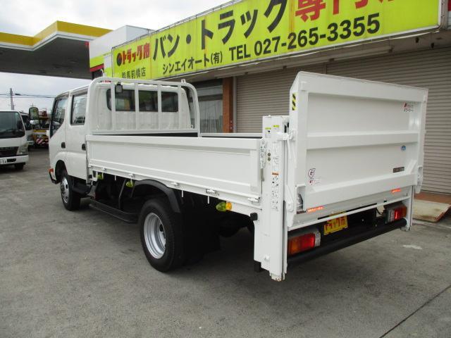 2t Wキャブ ロング 垂直パワーゲート 4WD ゲート昇降荷重600Kg 4WD切替え式 リアヒーター ETC(30枚目)