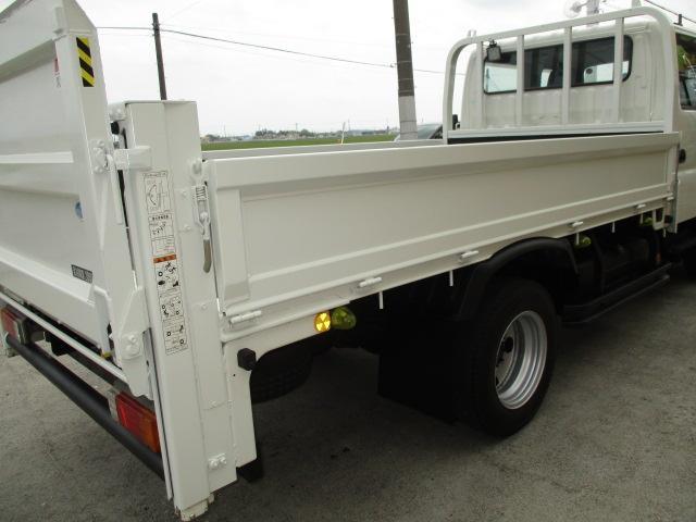 2t Wキャブ ロング 垂直パワーゲート 4WD ゲート昇降荷重600Kg 4WD切替え式 リアヒーター ETC(34枚目)