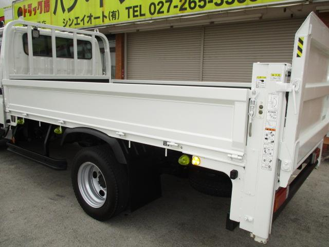 2t Wキャブ ロング 垂直パワーゲート 4WD ゲート昇降荷重600Kg 4WD切替え式 リアヒーター ETC(35枚目)