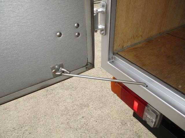 3t フルジャストロー アルミバン 両側スライドドア AT車 バックカメラ ETC リア観音 90度ストッパー(6枚目)