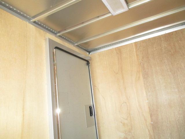 3t フルジャストロー アルミバン 両側スライドドア AT車 バックカメラ ETC リア観音 90度ストッパー(10枚目)
