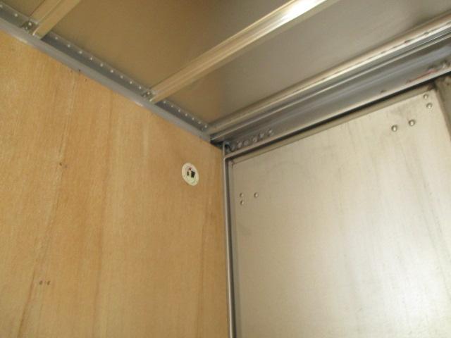 3t フルジャストロー アルミバン 両側スライドドア AT車 バックカメラ ETC リア観音 90度ストッパー(11枚目)