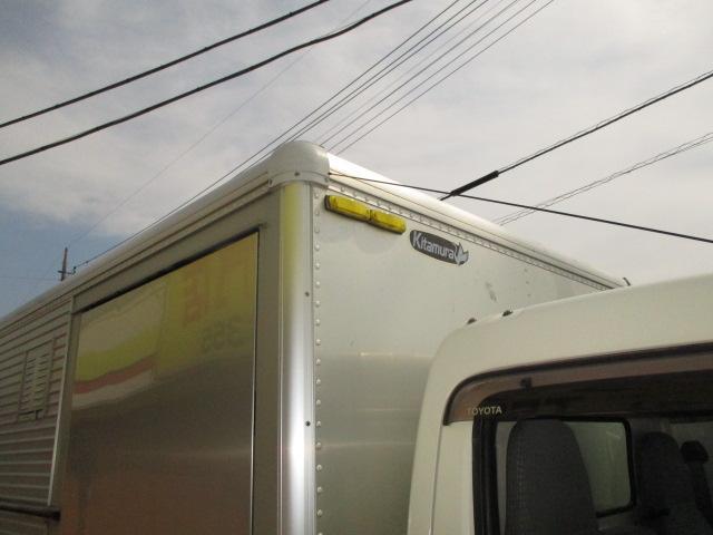3t フルジャストロー アルミバン 両側スライドドア AT車 バックカメラ ETC リア観音 90度ストッパー(41枚目)