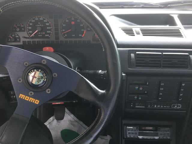 アルファロメオ アルファ155 2.0 ツインスパーク 16V ローダウン 社外マフラー