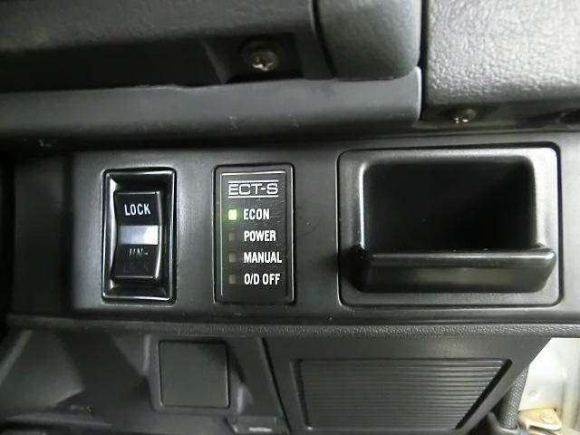 ECT-Sのインジケーター その横にはドアロックのスイッチが付きます。