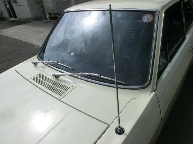 伸縮式のラジオアンテナ。
