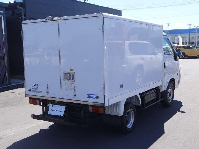 4WD アルミ保冷車 AUTECH製 日本トレクス製(2枚目)