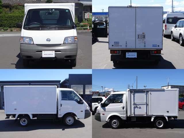 4WD アルミ保冷車 AUTECH製 日本トレクス製(3枚目)